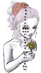 dama blanca by X-MegaGirl