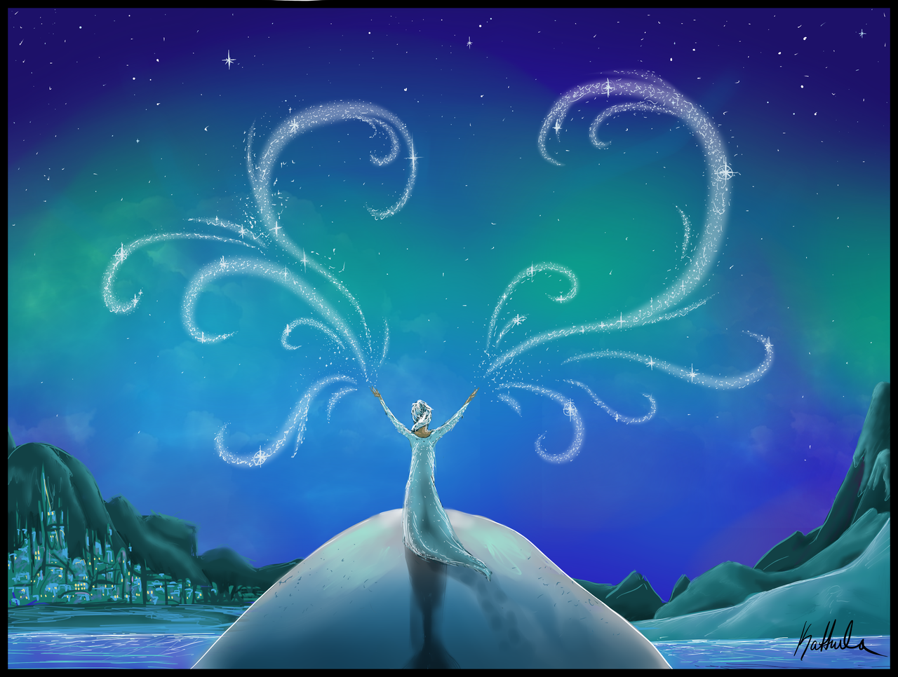 Frozen: Elsa by Kattula