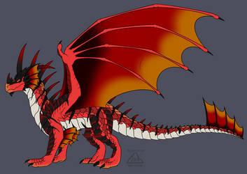 Nambali's Dragon Form