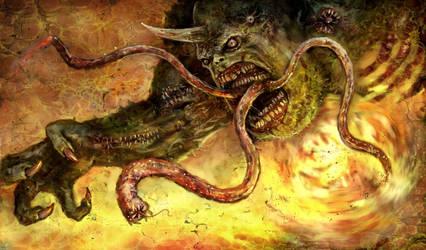 Nurgle Demon II by karichristensen