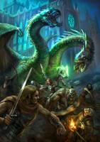 Dragon Battle by karichristensen