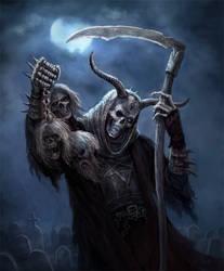 Skeleton Witch by karichristensen