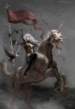 Fifth Horsewoman of the Zombie Apocalypse