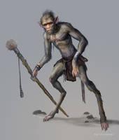 Tribal Creature by karichristensen