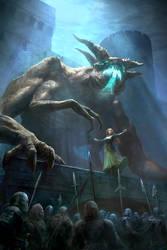 Night Demon by karichristensen