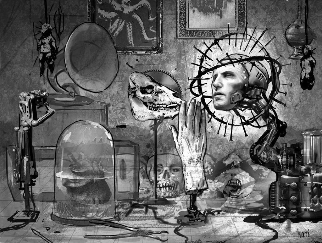 Effigy,  Nine Inch Nails by karichristensen
