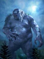Giant Troll by karichristensen