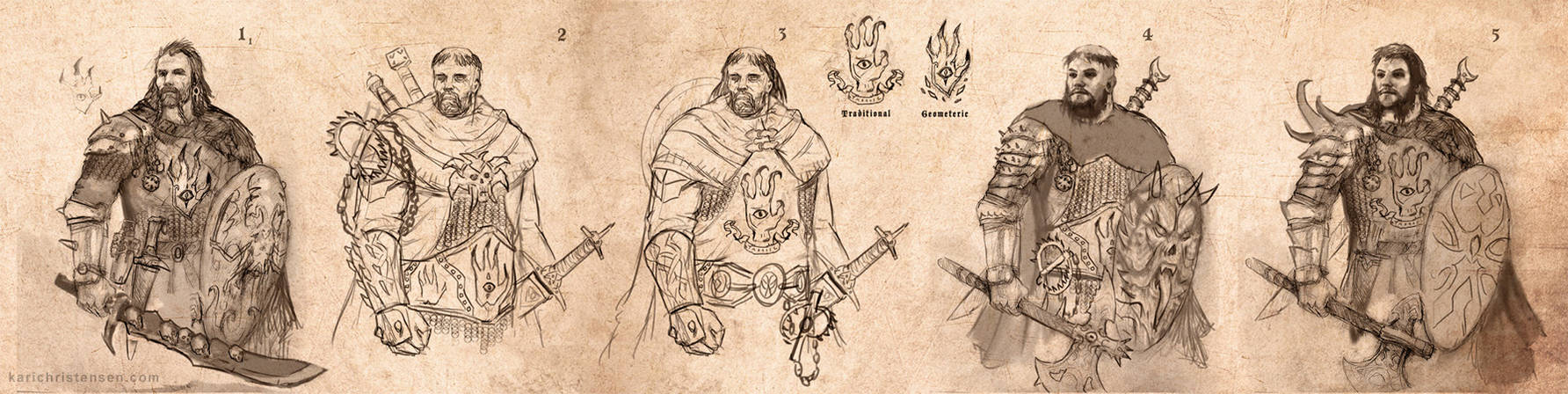 Demon Hunter Concept Designs