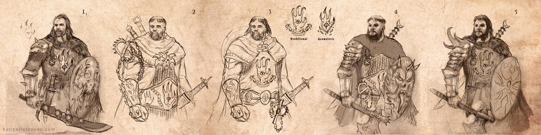 Demon Hunter Concept Designs by karichristensen