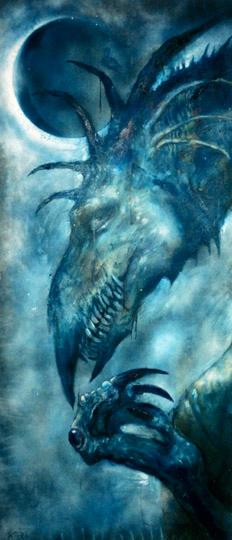 Prayer Dragon by karichristensen