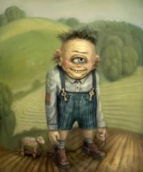 Cyclops Boy by karichristensen