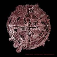 Big City Life 001 B by OrbitalChiller