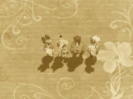 Shadow Bears by montybearkins