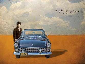 Used salesman.....of cars by montybearkins