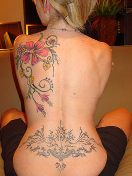 My Full Back Tattoo 1