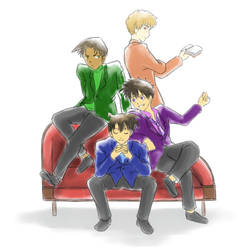 DC - Gosho Boys by Kherohi