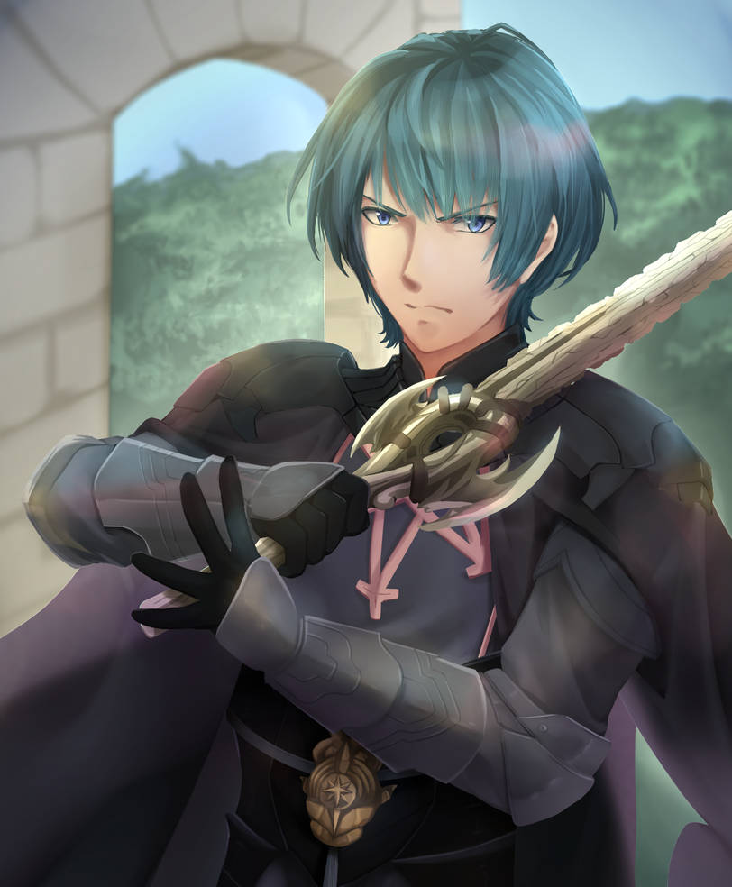 FE3H - Byleth by Kherohi