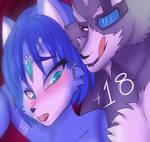 Krystal and Wolf