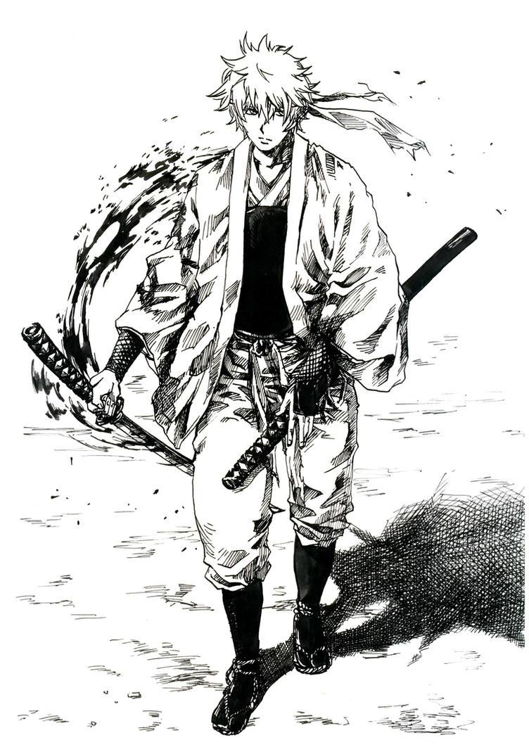 GINTAMA - Gintoki 2 Shiroyasha by Shikaobing on DeviantArtGintama Gintoki Past Wallpaper