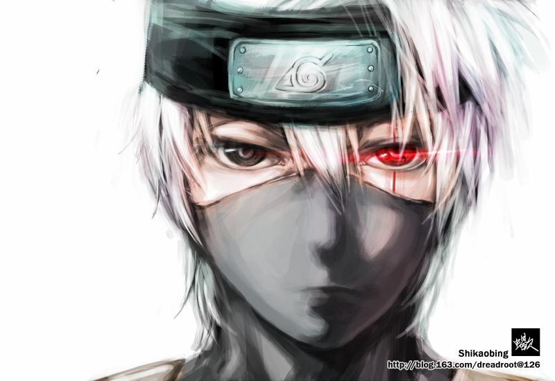 Naruto : Hatake Kakashi by Shikaobing