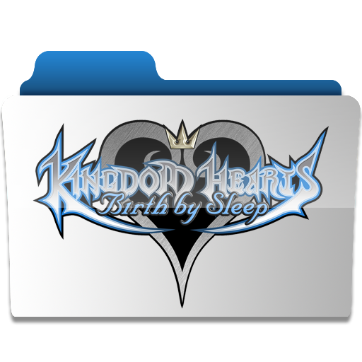 Kingdom Hearts BBS Title Folde by revenantSOULx3