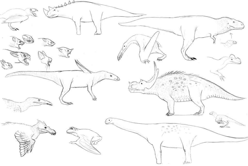 Atercurisaurus Creatures from World of Kong