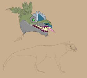 Dinowolf by Troodontidae