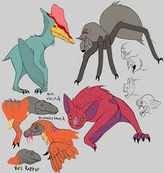 Beasts of Genndy Tartakovsky's Primal 2