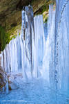 inside the icefall by Perena