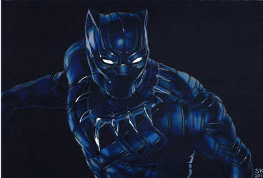 Black Panther by namsikka