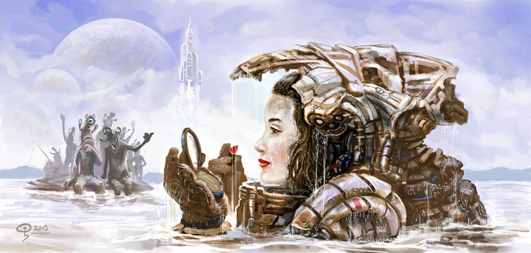 Scifi-girl by Odysseus-XB