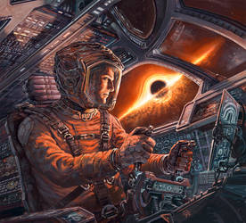 EXODUS: Event Horizon Cover art by Odysseusart