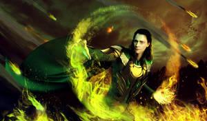 Loki:Master Of Magic by ladystarkennedy
