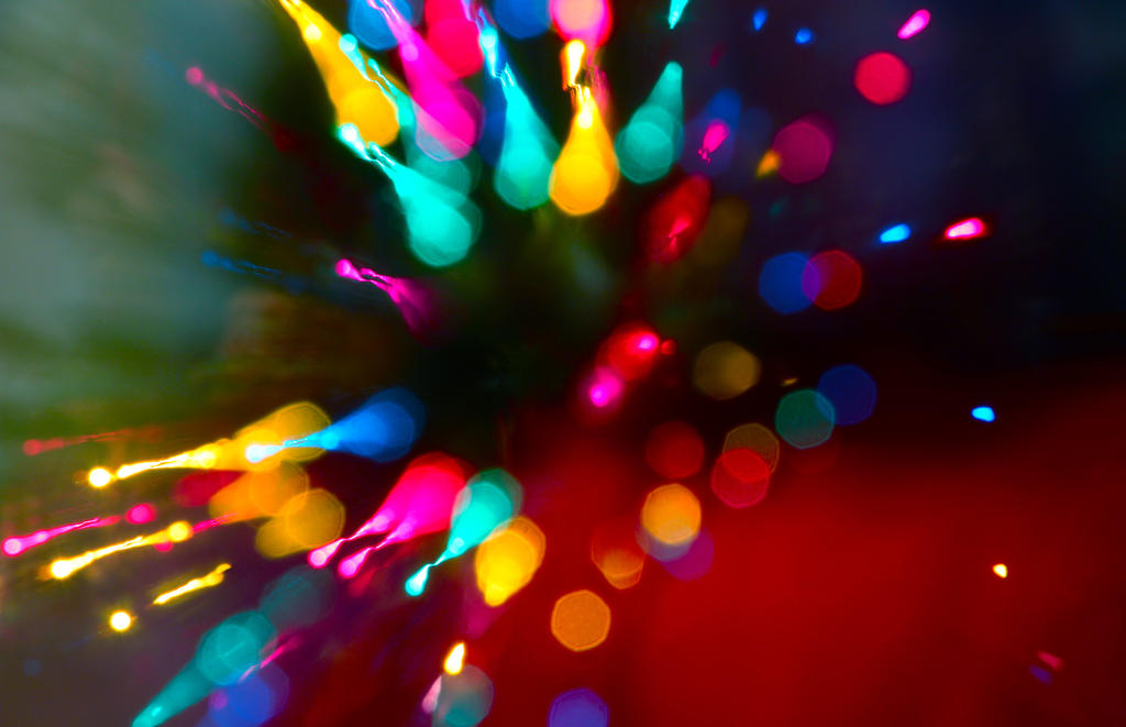 Christmas Splatter by DavidRosario