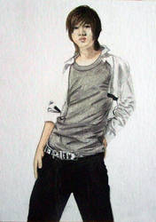 Henry Pastel Pencil by Love-ROKKUGO