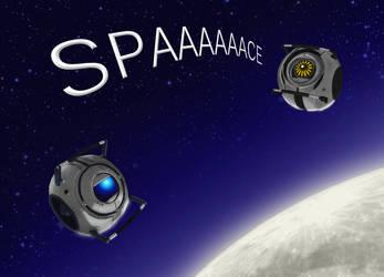 Portal 2 spaaaace by Poticceli