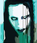 Marilyn Manson Vector