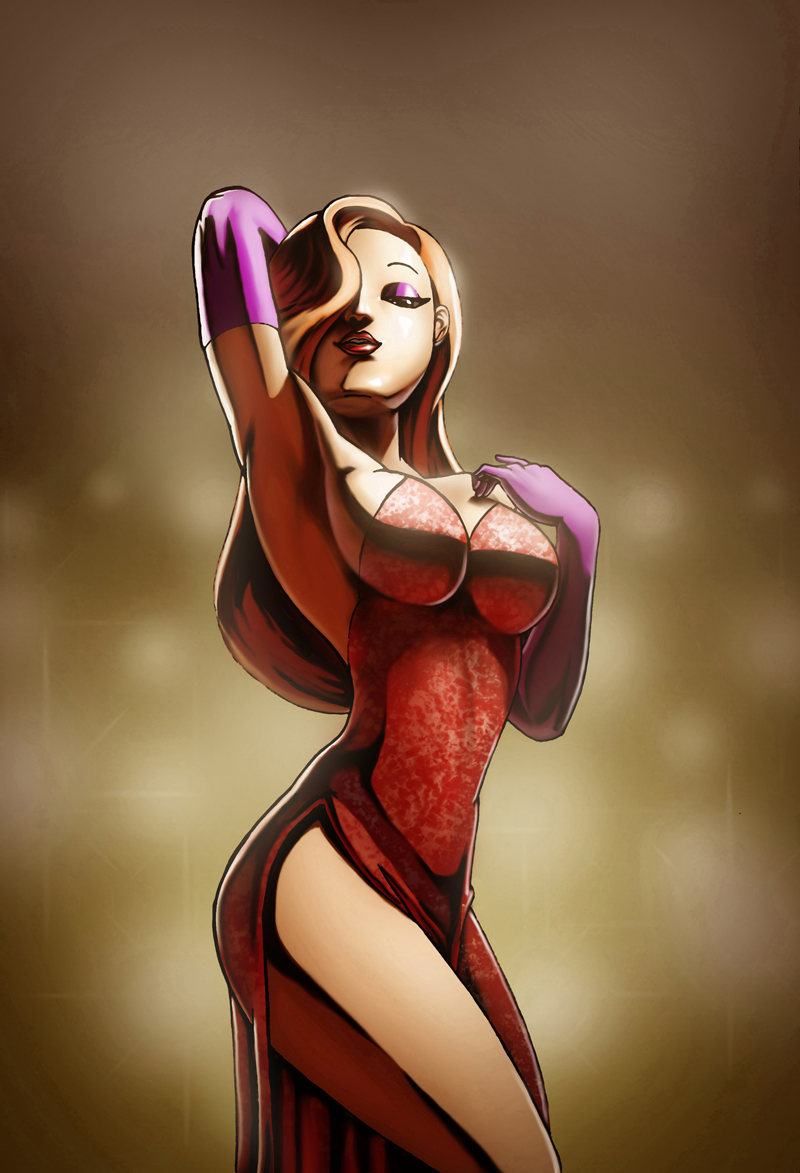 Jessica Rabbit by LeadApprentice