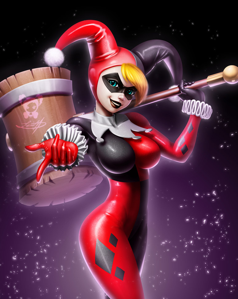 Harley Quinn by LeadApprentice
