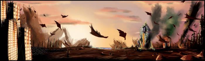 earth golem by LuridShyGuy