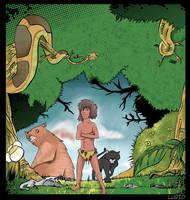 mowgli by LuridShyGuy