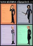 Alan Rickman Characters : 1