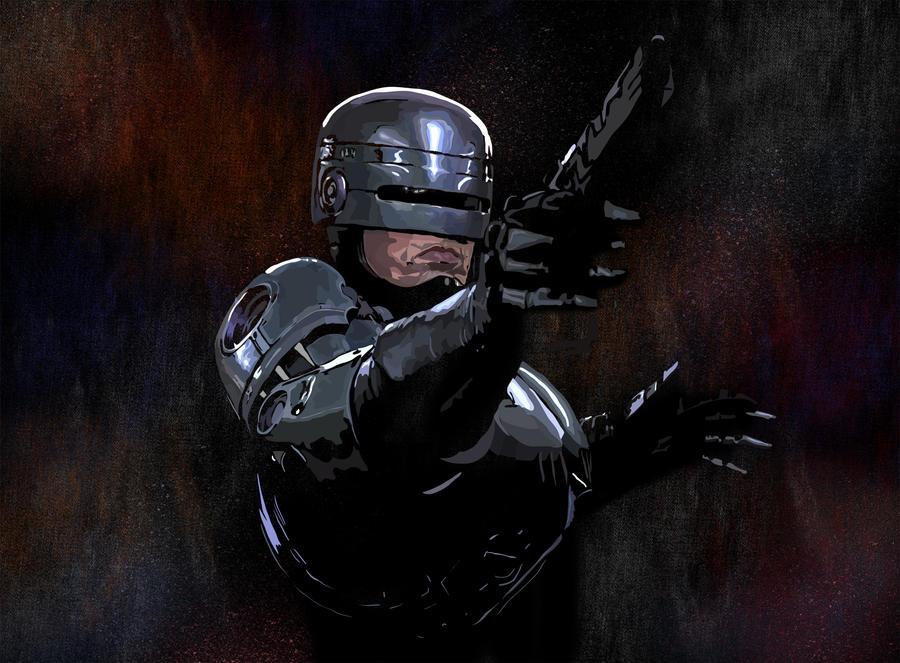 Robocop by megaoak on DeviantArt