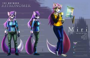 TWA Character Sheet: Miri Rodgers by Kafelnikov