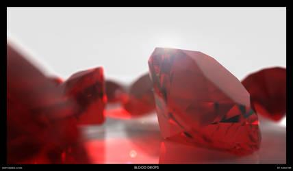 Blood Drops by ani07789