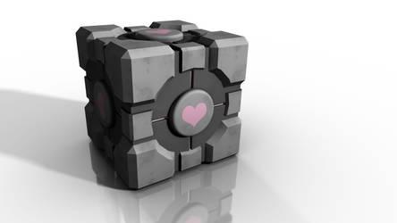 Companion Cube by ani07789