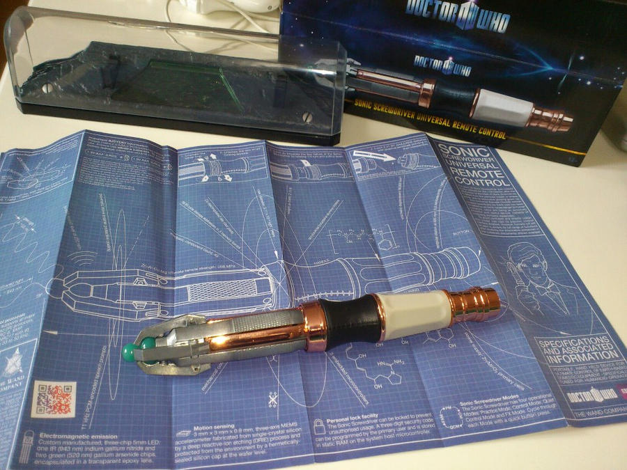 Sonic Screwdriver by Jucchan