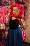 Ariel being silly