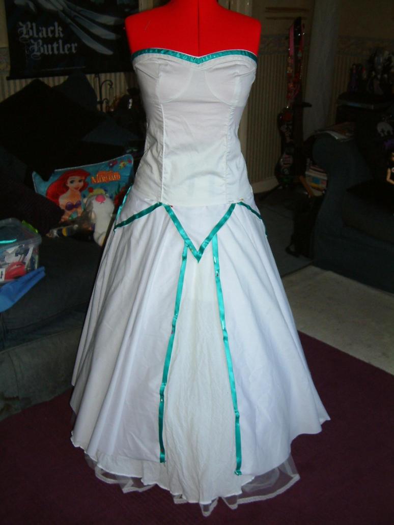 Wedding gown WIP by FuriePhoenix on DeviantArt