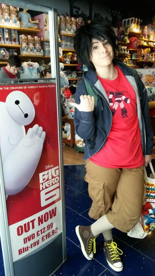 Hiro shopping by FuriePhoenix